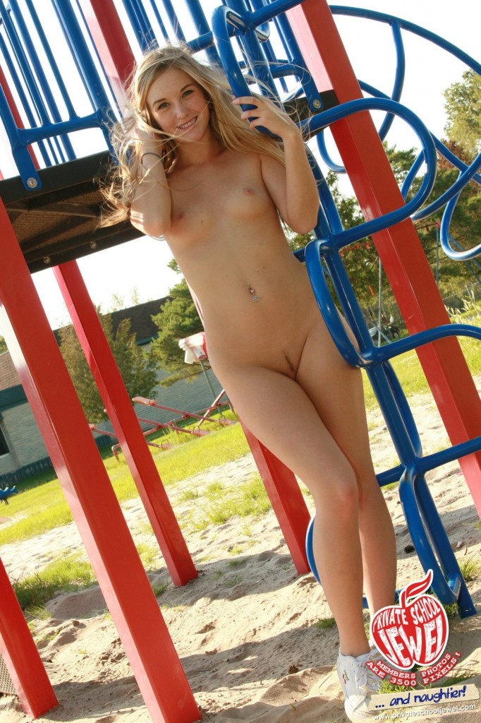 School nude in Naked in